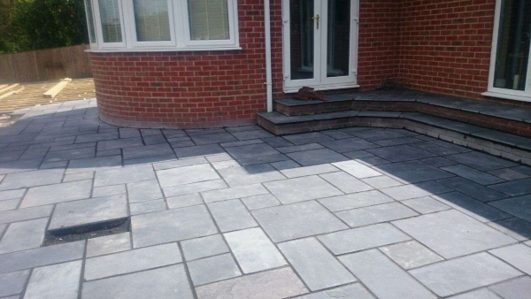 Block Paved Driveway in North London
